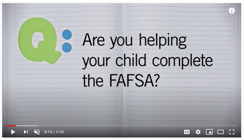 FAFSA and FSA ID Tips for Parents